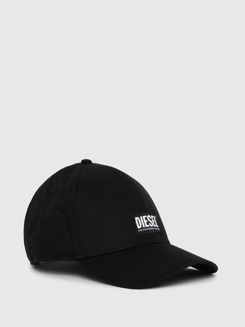 DIESEL CORRY HAT BLACK UNISEX